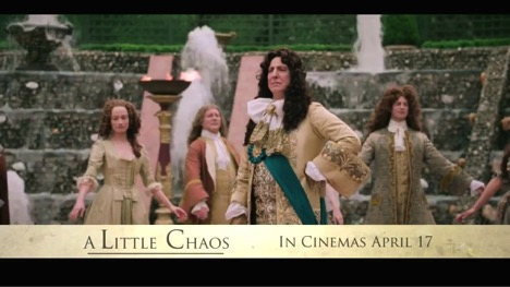 A Little Chaos in Louis XIV's Court | Fiction and Film for
