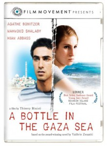 bottle in gaza sea