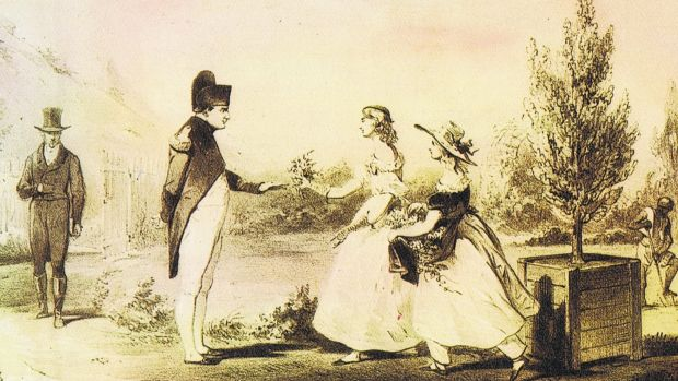 Figure 4 Napoleon with Betsy and her sister Jane